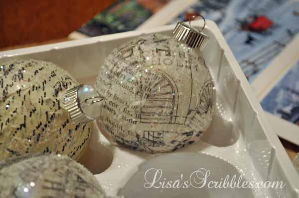 Lisa S Scribbles Blog Archive Diy Christmas Glass